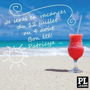 Vacances 2014 de Patricya Lacerte.com